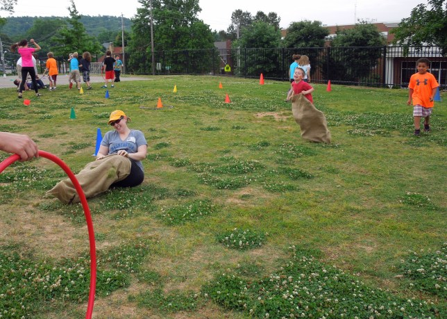Field Day | Potato Sack Race