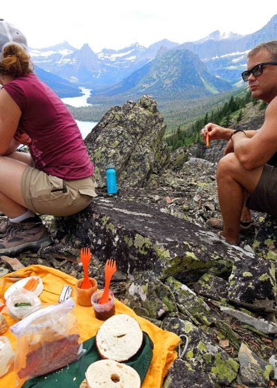 Lunch on Bear Mountain Trail