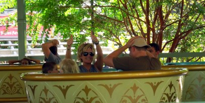 The teacups with Walter and Scout