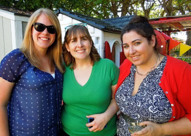 Party Pics! | Laura, Becky, and our childhood friend, Jenny
