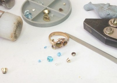 Making Charlotte's Sea Shore Curl Ring