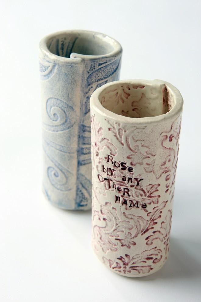 Handmade Irish Pottery Bud Vase
