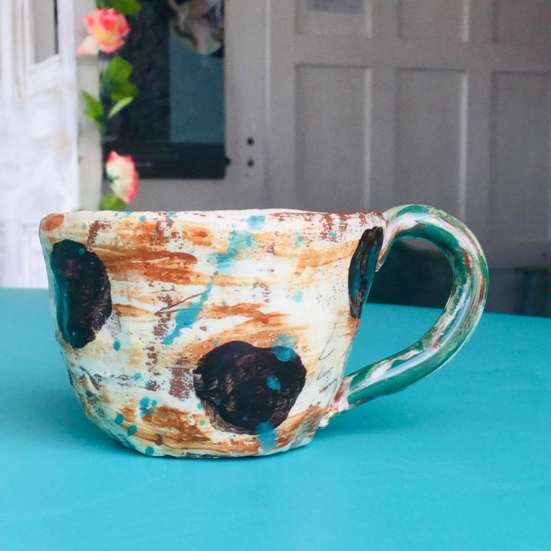 espresso coffee cup by sarah monk ceramics
