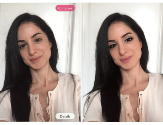 YouCam Makeup App Review SarahNajafi.com