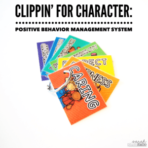Clippin' for Character: Positive Behavior Management System