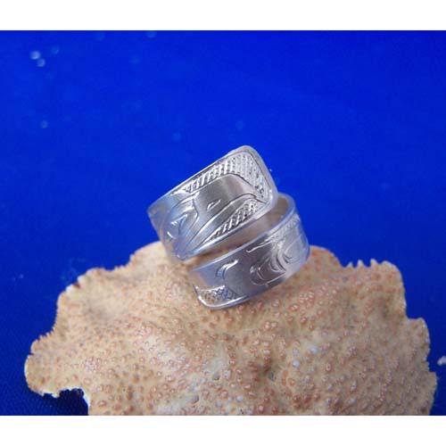Siklver Wrap Ring by Chris Russ