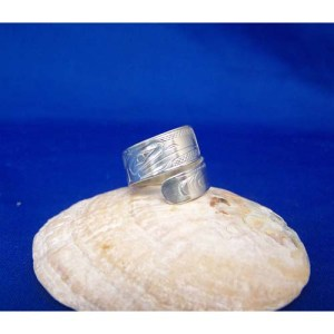 Silver Eagle Wrap Ring by Chris Rus