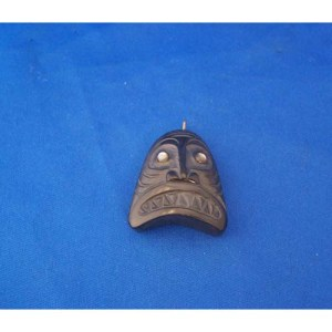 Argillite Dogfish Pendant by Cooper Wilson