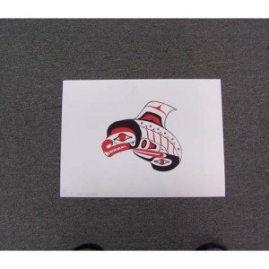 Limited Edition Silk Screen Killler Whale by Cooper Wilson