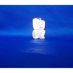 Silver Beaver Pendant by Derek White