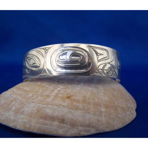Silver Eagle Bracelet by Derek White