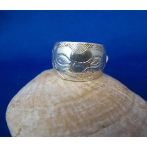 Silver Bear Ring by Fred Wilson