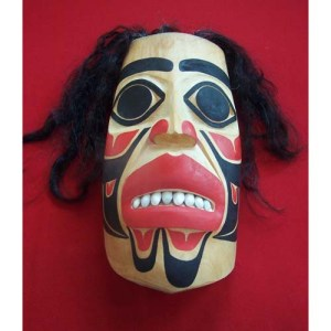 Raven Transformatio Cedar Mask by Shaun Edgars