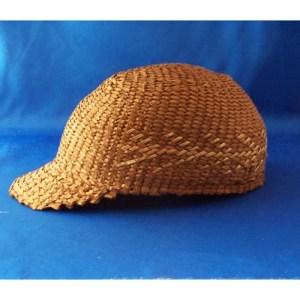 Red Cedar Ball Cap Style Hat by Dorcas Belll White