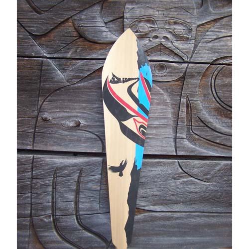 Red Cedar Eagle Paddle by Wayne Edenshaw