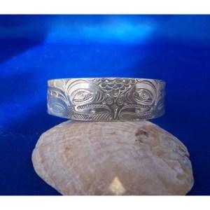 Silver Eagle Bracelet by Neil Goertzen