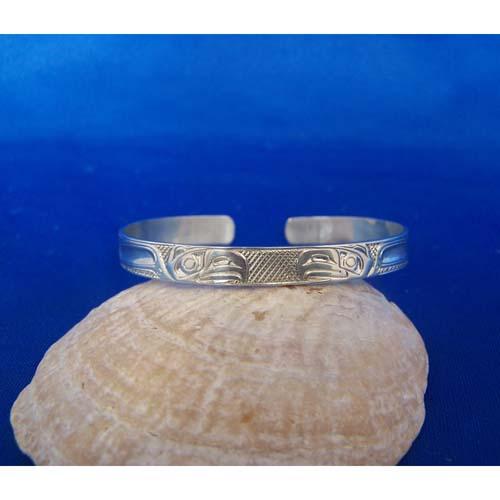 Silver Eagles Bracelet by Carmen Goertzen
