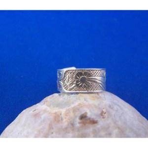 Silver Hummingbird Ring by Carmen Goertzen