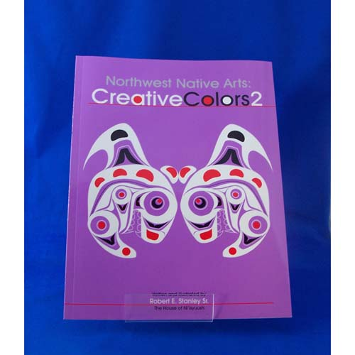 Book-NW Native Arts Creative Colours