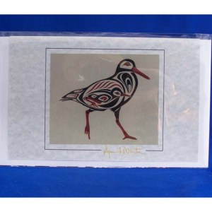 Card-Oyster Catcher 4 by April White