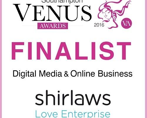 I'm a Venus Awards Finalist!
