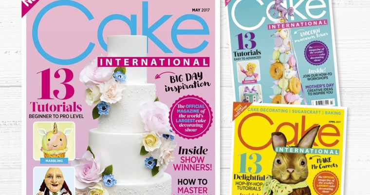 Cake International Magazine – Exclusive 51% Discount for Bake with Sarah followers!!!!!