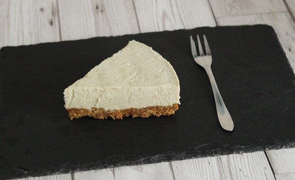 Vegan Coconut & Lime Cheesecake