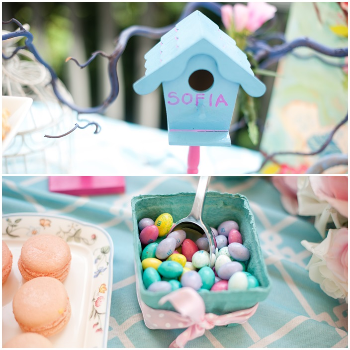 Cherry Blossom and Birds Themedd First Birthday Sarah Sofia Productions