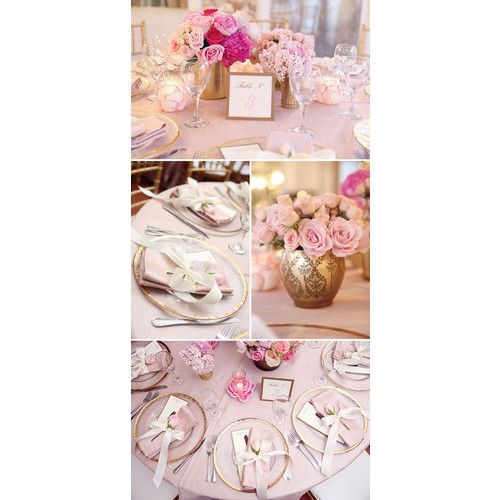 Elegant and Glam Pink + Gold Baby Shower || Sarah Sofia Productions