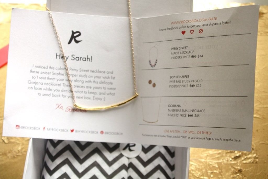 Rocksbox Jewlery Subscription Sarah Sofia Productions