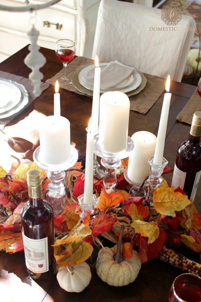 Domestic Charm Thanksgiving Tablescape