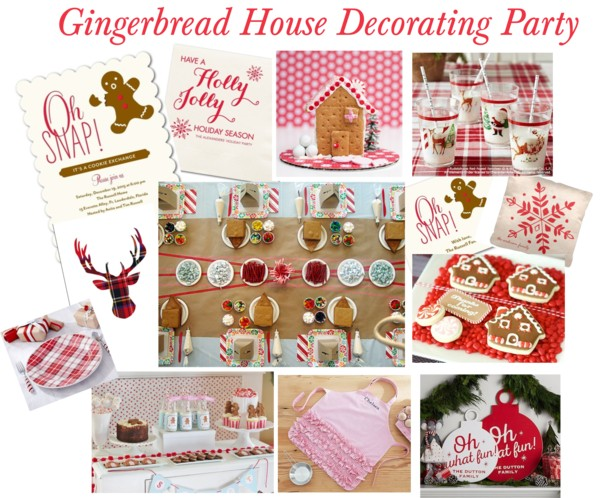Gingerbread House Decorating Party Inspiration Sarah Sofia Productions