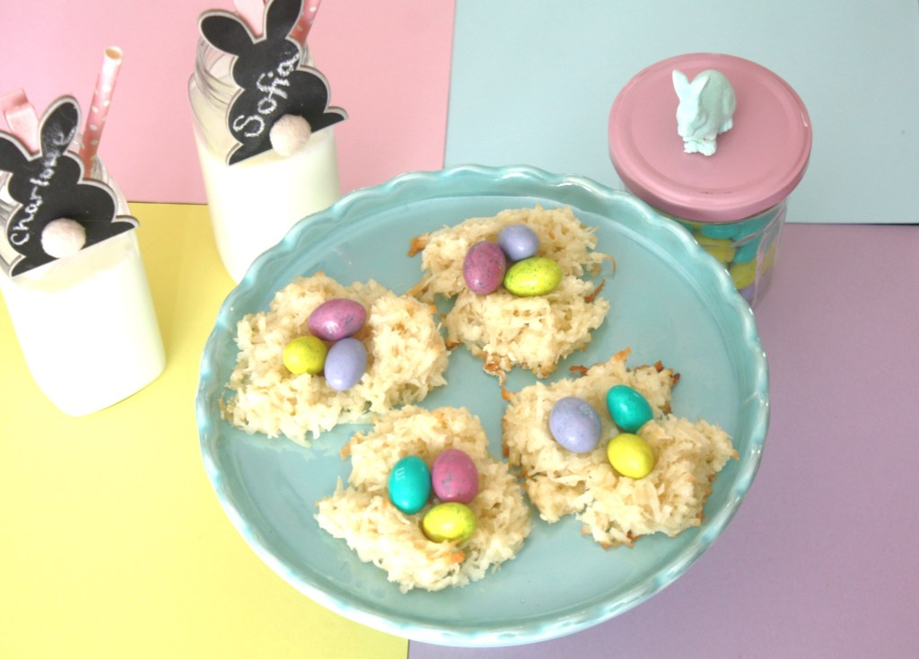 Bird Nest Cookies Easter Dessert or Party Treat via Sarah Sofia Productions