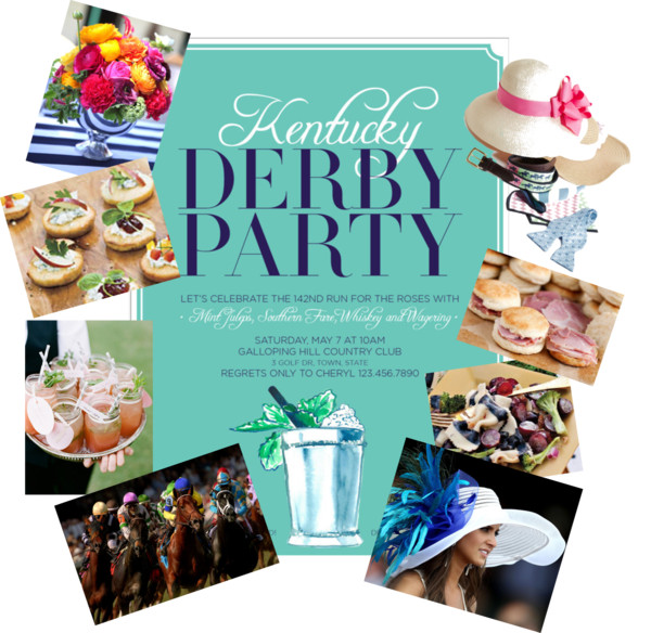 Derby Garden Party Inspiration