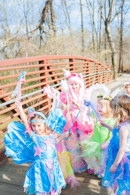 Fairies Unicorns and Rainbows Party via Sarah Sofia Productions
