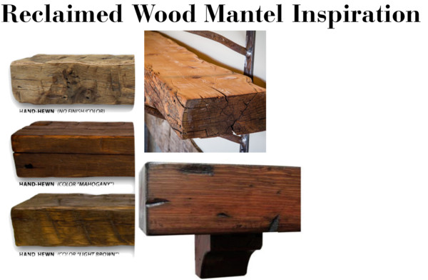 Family Room Refresh Reclaimed Wood Mantel Inspiration