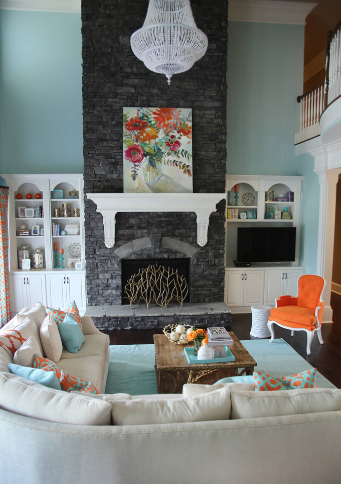 Family Room Inspiration via Sarah Sofia Productions