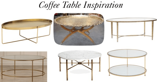Family Room Refresh:Coffee Table Inspiration