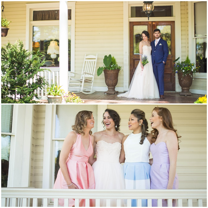 Pantone Pastel Inspired Wedding via Sarah Sofia Productions