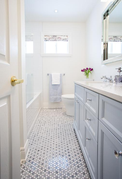 Guest Bathroom Inspiration Before via Sarah Sofia Productions