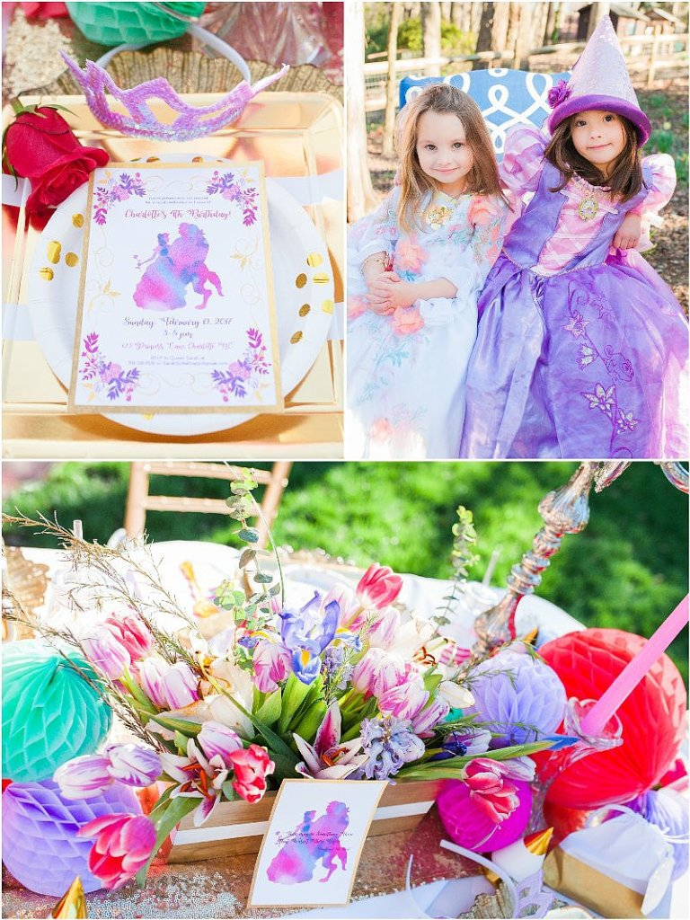 Be Our Guest Garden Party Feature on Kara\'s Party Ideas