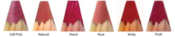 Sarah-Still-Cosmetics-Lip-Pencil-color-swatches