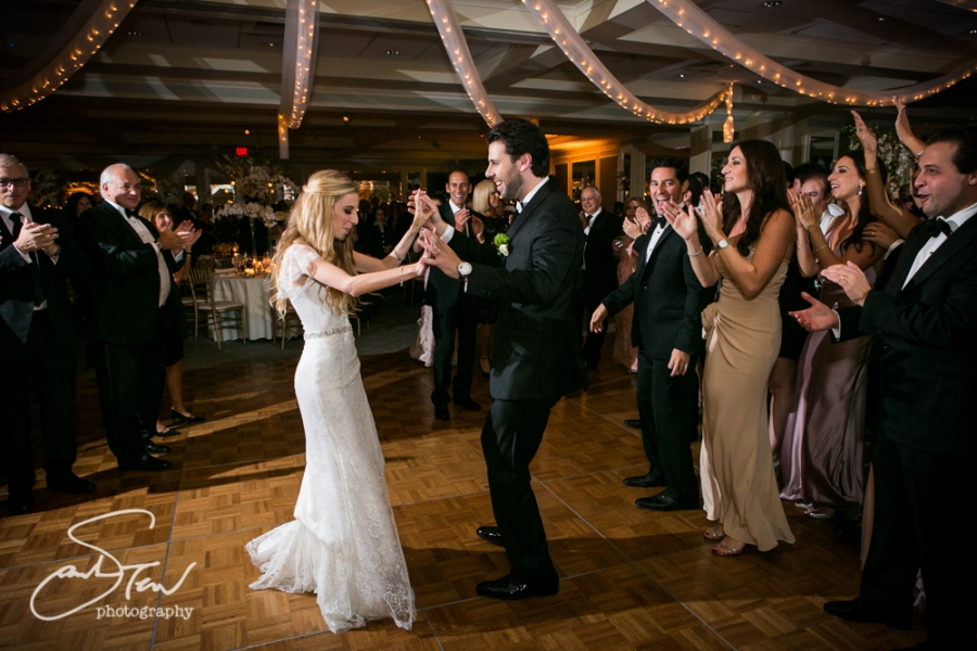 Indoor Wedding At Fresh Meadow Country Club Lake Success