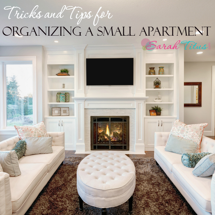 Tricks and Tips for Organizing a Small Apartment - Sarah Titus on Small Apartment Organization  id=99721