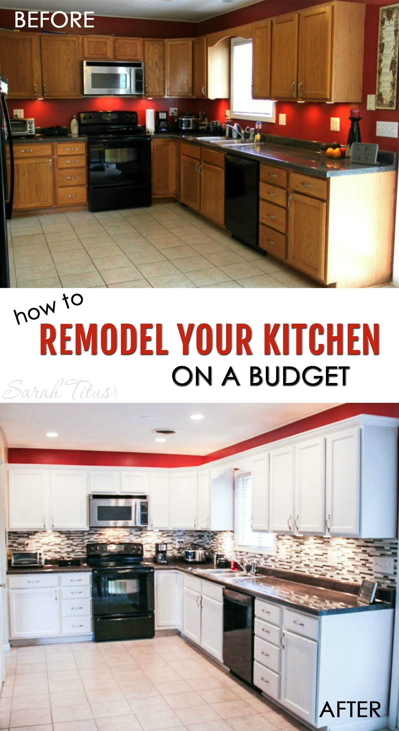 Therefore, a kitchen remodel typically comes into play when things start deteriorating. How To Remodel Your Kitchen On A Budget - Sarah Titus