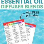 25 Summer Essential Oil Diffuser Blends Free Printable Sarah Titus From Homeless To 8 Figures