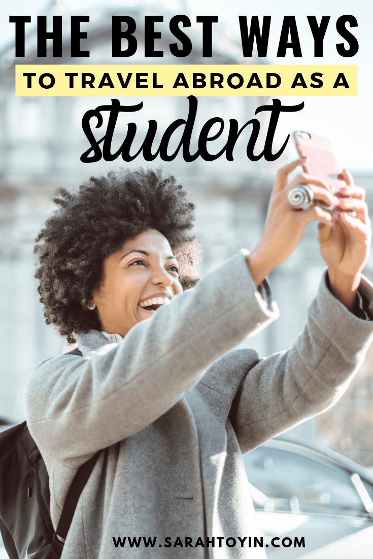 best ways to travel as a student