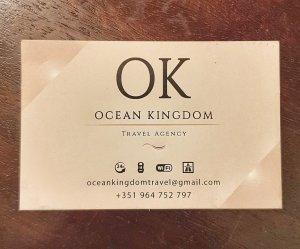 Ocean Kingdom Travel Agency - Portugal