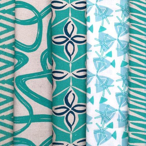 Hand printed & digitally printed fabrics