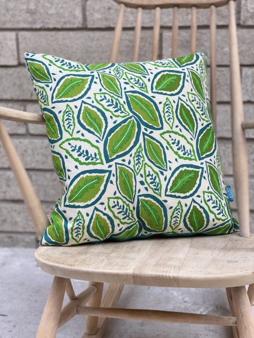 "Thea 18"" cushion in Meadow"
